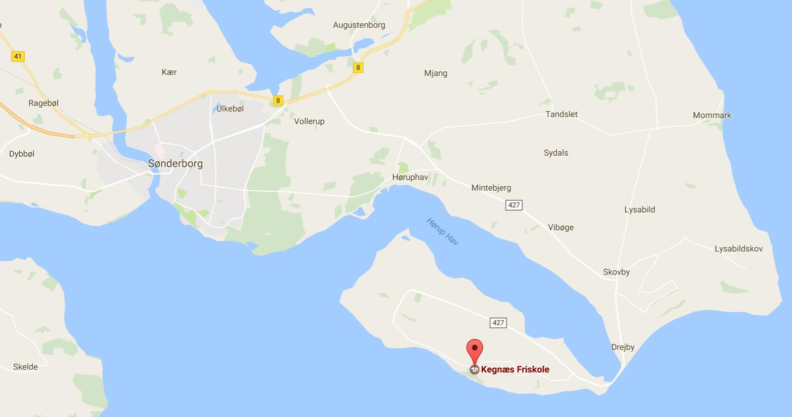 Kegnæs Friskole på Google Maps